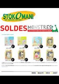 Prospectus stokomani : Soldes Monstres
