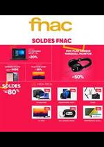 Prospectus FNAC : Soldes Fnac