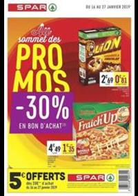 Prospectus Spar Deuil La Barre : Promos