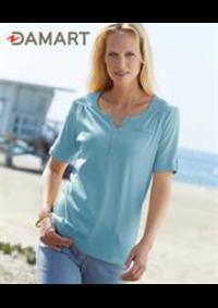 Prospectus Damart VILLENEUVE LA GARENNE : T-Shirts Femme