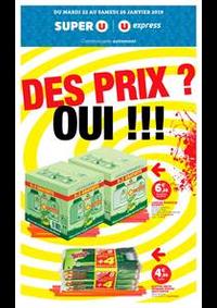 Prospectus Super U AMPHION LES BAINS : DES PRIX ? OUI !!!