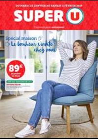 Prospectus Super U MANDEURE : SPÉCIAL MAISON LE BONHEUR S'INVITE CHEZ VOUS