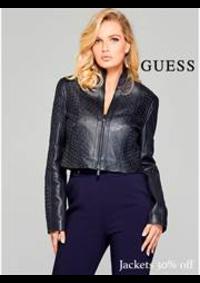 Prospectus Guess Le Vallois : Guess woman jackets