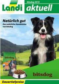 Prospectus Landi Belp - Aare Genossenschaft : Bitsdog Hundefutter 2019
