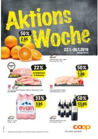 Prospectus Coop Supermarché Bern - Schlossstrasse : Supermarkt-Angebote in der Verkaufsregion Bern-Wallis
