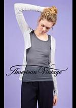 Prospectus American Vintage : Gilets Femme