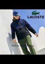 Prospectus Lacoste : Lacoste Motion Men