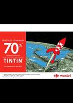 Prospectus Carrefour Market : Tintin