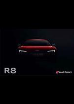 Prospectus Audi : Audi R8