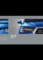 Prospectus Audi : Audi Q7