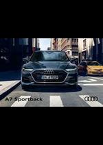 Journaux et magazines Audi : Audi A7 Sportback