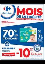Prospectus Carrefour : Le Mois de la Fidélité 1