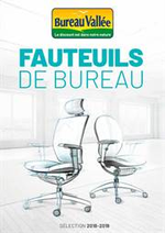 Prospectus Bureau Vallée : Fauteuils de Bureau