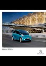 Prospectus Peugeot : Peugeot iOn