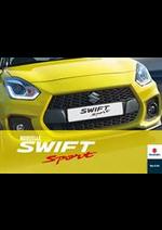Prospectus Suzuki Auto : Swift Sport