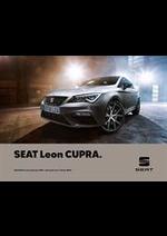 Promos et remises  : Seat Leon Cupra