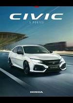 Journaux et magazines Honda France : Honda Civic