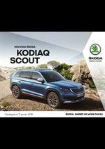 Prospectus Skoda : Skoda Kodiaq Scout
