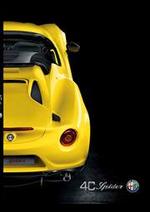 Prospectus Alfa Roméo : Alfa Romeo 4C Spider