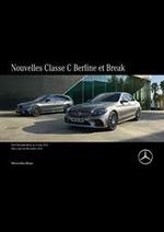Journaux et magazines Mercedes Benz : Mercedes-Benz Classe C Berline et Break