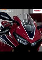Prospectus Honda France : Sportives Honda
