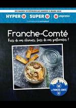 Prospectus Super U : FRANCHE-COMTÉ FIERS DE NOS ÉLEVEURS, FIERS DE NOS PARTENAIRES !