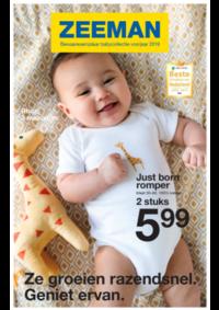 Prospectus Zeeman Ixelles : Bewaarexemplaar babycollectie