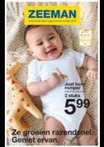 Prospectus Zeeman : Bewaarexemplaar babycollectie