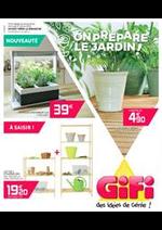 Prospectus Gifi : On prépare le jardin!