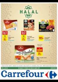 Prospectus Carrefour GENNEVILLIERS : halal