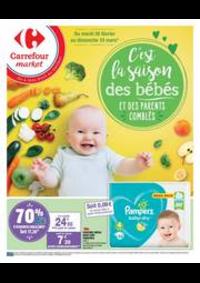 Prospectus Carrefour Market PARIS 102-104 AVENUE GENERAL LECLERC : PUÉRICULTURE