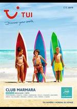 Prospectus  : Marmara Été 2019