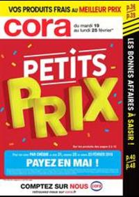 Prospectus Cora LIVRY-GARGAN : Petits Prix