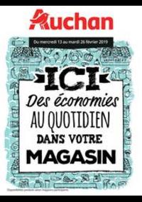 Prospectus Auchan Melun Senart Cesson : Des économies au quotidien