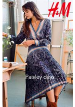 Prospectus H&M : H&M Paisley days