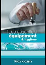 Prospectus Promocash : Les essentiels équipement et hygiène 2018/2019