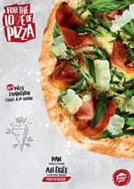 Promos et remises  : For the love of Pizza