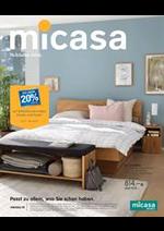Prospectus Micasa : Micasa - Schlafen 2019