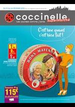 Prospectus Coccinelle : C'est bon quand c'est bien fait!
