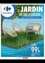 Prospectus Carrefour : LE JARDIN UN LIEU D'EVASION