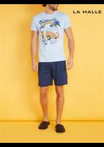 Prospectus La Halle : Pyjamas Hommes
