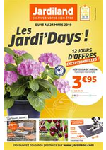 Prospectus Jardiland : Les Jardi' Days!