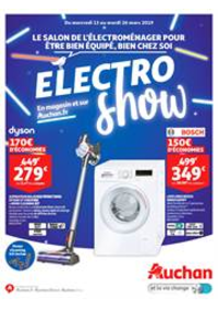 Prospectus Auchan Drive VELIZY : Electro Show