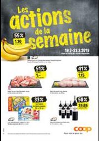 Prospectus Coop Supermarché Boncourt : Supermarkt-Angebote in der Verkaufsregion Westschweiz