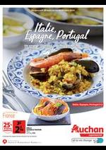 Prospectus Auchan Supermarché : Un voyage culinaire, sans bouger de chez vous.
