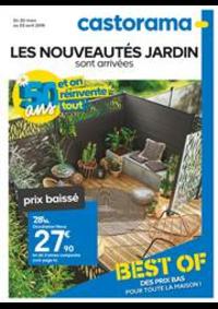 Prospectus Castorama PONTAULT COMBAULT : Les Nouveautés Jardin