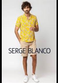 Prospectus Serge Blanco PARIS : Chemises Homme