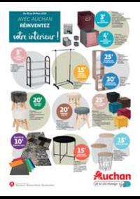 Prospectus Auchan PUTEAUX : Avec Auchan, réinventez votre intérieur !
