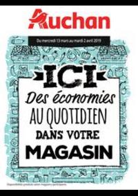Prospectus Auchan Mulhouse : Des économies au quotidien