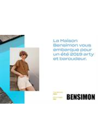 Prospectus Bensimon Saint-Germain-en-Laye : Lookbook Printemps Été